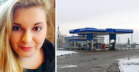 Un homme sanglote dans la station, alors elle regarde dans sa voiture et voit CECI sous un plaid…
