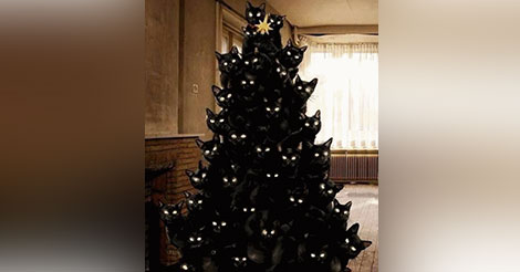 sapin-noel-chat