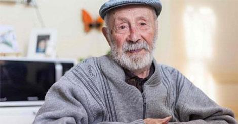Le doyen des hommes français vit toujours chez lui, à l'âge de 108 ans