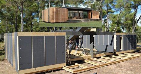 Ein 150 m² großes Haus für weniger als 38 000 € und in 4 Tagen erbaut.