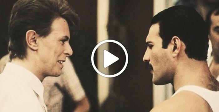 Je n'aurais jamais pensé que 'Under Pressure' ressemble à ça sans musique : Freddie Mercury & David Bowie a cappella!