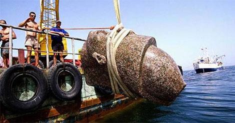 Un scientifique a trouvé ceci caché dans le fond de l'océan. Et c'est un vrai truc de science-fiction