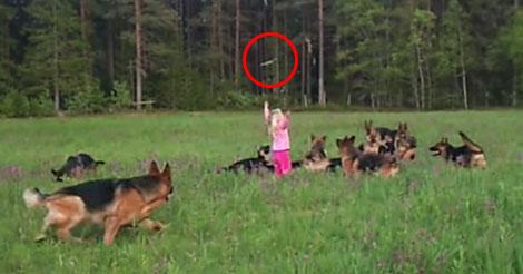 petite-filles-avec-des-chiens