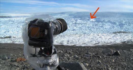 camera glacier