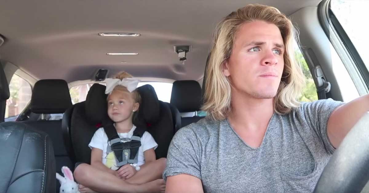 La belle-fille et le papa enregistrent une vidéo hilarante vue 9 millions de fois, et la maman en entend parler !