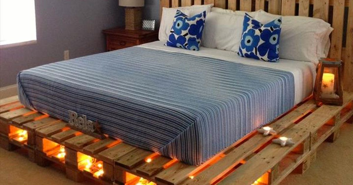 Pourquoi acheter un lit quand on peut en faire un avec des palettes ? Voici 14 idées fantastiques