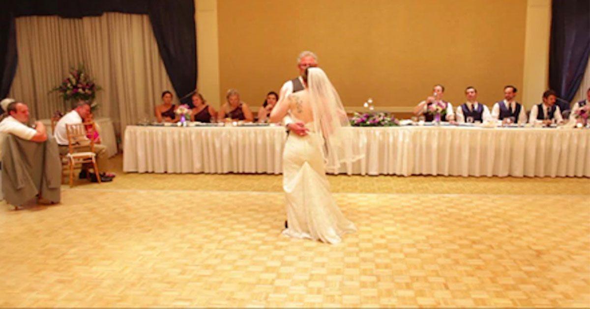 La mariée abandonne les traditions du mariage pour une danse amusante avec son père !