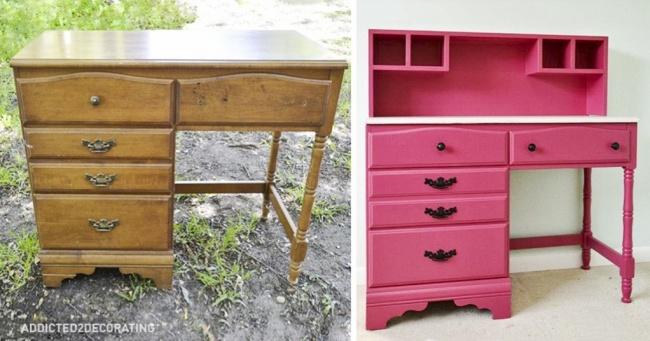 15 idées pour renouveler vos vieux meubles cet été