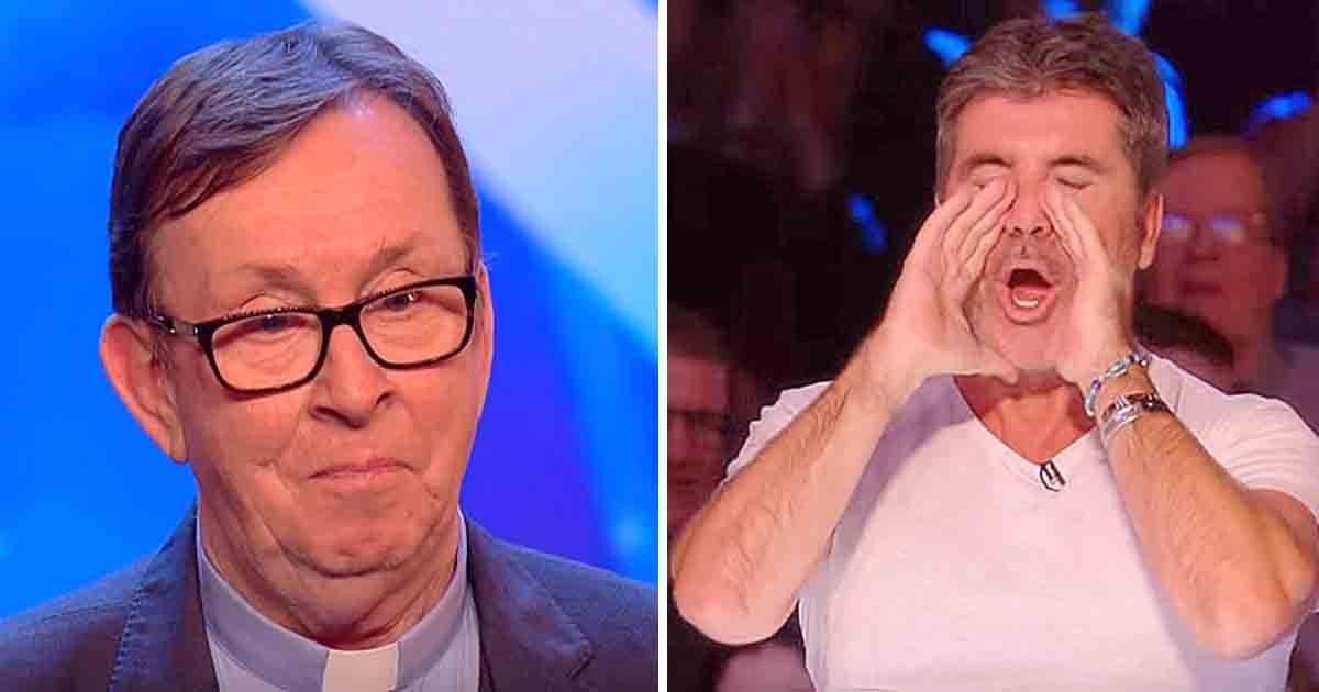 Les larmes coulent quand il entend la chanson qu'a choisie le prêtre. Le juge : «Ceci est la meilleure audition que je n'ai jamais écoutée»